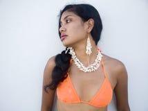 Ragazza sexy in un bikini immagini stock libere da diritti
