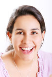 Ragazza sorridente Fotografia Stock Libera da Diritti