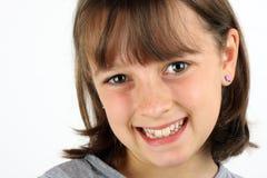 Ragazza sorridente immagini stock