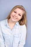 Ragazza sorridente del ritratto Fotografie Stock