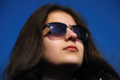 Ragazza sorridente dell'adolescente Fotografia Stock