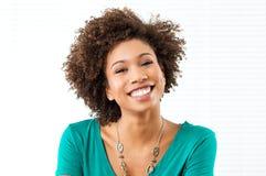 Ragazza sorridente felice Fotografia Stock Libera da Diritti