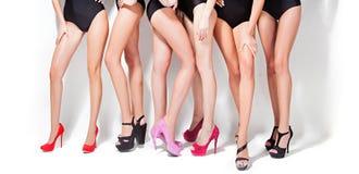 Ragazza su una sfilata di moda Fotografia Stock