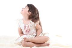 Ragazza sveglia del bambino Immagini Stock