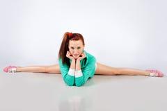 Ragazza sveglia del Gymnast   Fotografia Stock Libera da Diritti