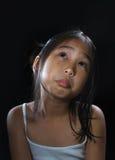 Ragazza sveglia dell'Asia Fotografie Stock Libere da Diritti