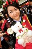 Ragazza tailandese del ritratto Fotografia Stock