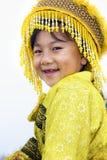 Ragazza tailandese della tribù della collina Fotografia Stock