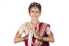 Ragazza tamil Immagini Stock Libere da Diritti