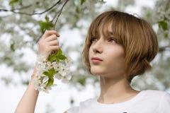 Ragazza teenager Fotografie Stock Libere da Diritti