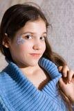 Ragazza teenager bella Immagini Stock Libere da Diritti