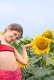 Ragazza teenager di bellezza Fotografie Stock
