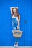 Ragazza teenager di estate Fotografie Stock