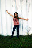 Ragazza teenager felice immagini stock libere da diritti