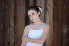 Ragazza teenager seria Fotografie Stock