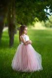 Ragazza in un bello vestito Fotografia Stock Libera da Diritti