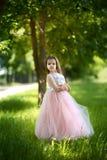 Ragazza in un bello vestito Immagine Stock
