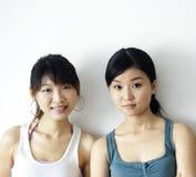 Ragazze asiatiche fotografia stock