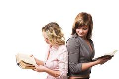 Ragazze con i libri Immagine Stock