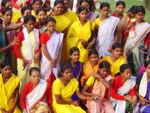 Ragazze degli indiani Fotografie Stock Libere da Diritti
