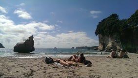 Ragazze della spiaggia Immagini Stock Libere da Diritti