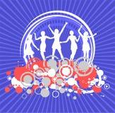Ragazze di Dancing royalty illustrazione gratis