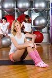 ragazze di forma fisica Fotografie Stock