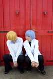 Ragazze giapponesi di cosplay Immagini Stock Libere da Diritti