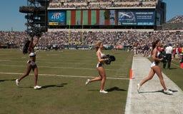 Ragazze pon pon di Philadelphia Eagles Immagini Stock