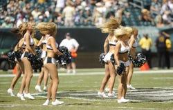 Ragazze pon pon di Philadelphia Eagles Fotografia Stock
