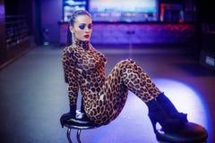 Ragazze sexy in club Fotografia Stock Libera da Diritti