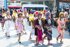 Ragazze tailandesi fotografia stock libera da diritti