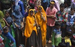 Ragazze tribali che godono correttamente Fotografie Stock