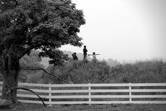Ragazzi della guerra civile Fotografie Stock