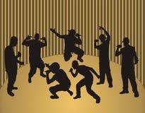 Ragazzi di colpo secco Fotografia Stock