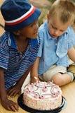 Ragazzi di compleanno immagini stock libere da diritti