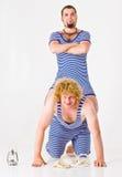 Ragazzi di marinaio pazzeschi Fotografia Stock