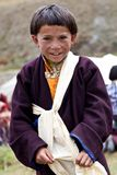 Ragazzi tibetani Immagini Stock Libere da Diritti