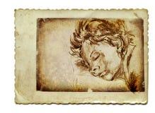 Ragazzo addormentato Fotografie Stock Libere da Diritti