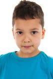 Ragazzo antillano del bambino del ritratto dello studio Immagine Stock Libera da Diritti