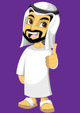 Ragazzo arabo Fotografie Stock