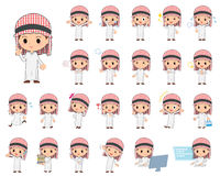 Ragazzo arabo royalty illustrazione gratis