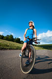 Ragazzo atletico Fotografia Stock Libera da Diritti