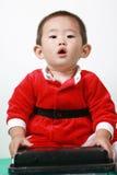 Ragazzo cinese della Santa Fotografia Stock