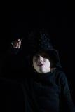 Ragazzo con la bacchetta magica Fotografie Stock Libere da Diritti
