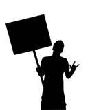 Ragazzo con la bandiera Fotografia Stock Libera da Diritti