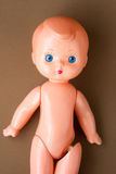 Ragazzo d'annata della bambola fotografia stock libera da diritti