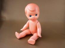 Ragazzo d'annata della bambola immagini stock