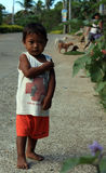 Ragazzo dal villaggio di Filippine Fotografia Stock