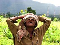 Ragazzo del coltivatore fotografie stock libere da diritti